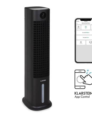 Klarstein Skytower Grand Smart, ochlazovač vzduchu, 80 W, 480 m³/h, 8 litrů, přenosný