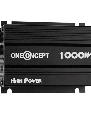 OneConcept 4-kanálový zesilovač oneConcept X4-A4, 600 W, černý
