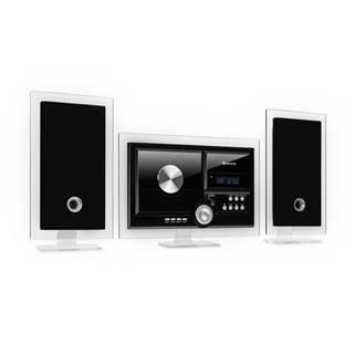 Auna Stereo Sonic, DAB+ stereo systém, DAB+, CD přehrávač, USB, BT, černý