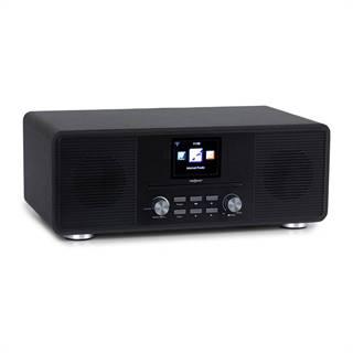 OneConcept Streamo CD, internetové rádio, 2 x 10 W, WLAN, DAB+, FM, CD přehrávač, BT, černé