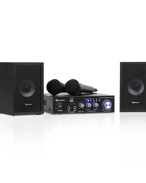 Auna Auna Karaoke Star 2, karaoke sada, 2 x 50 W max., BT, USB/SD, Line-In, 2 x mikrofon