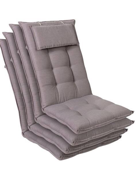 Blumfeldt Blumfeldt Sylt, polstr, čalounění na křeslo, vysoké opěradlo, polštář, polyester, 50 x 120 x 9 cm