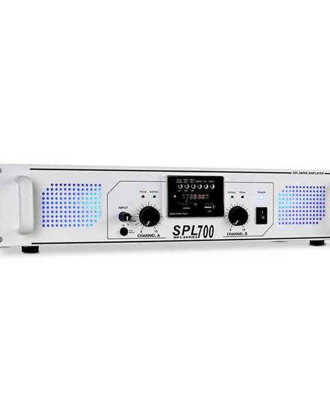 Skytec Skytec SPL-700 MP3 bílý, PA zesilovač 2000W, USB/SD/MP3