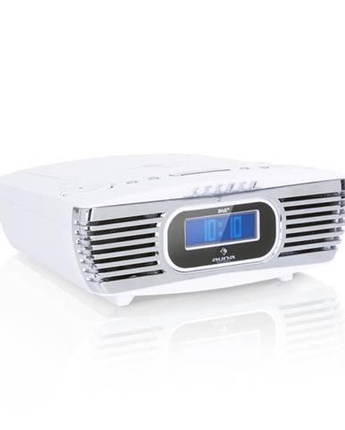 Auna Dreamee DAB+, rádiobudík, CD přehrávač, DAB+/FM, CD-R/RW/MP3, AUX,retro, bílý
