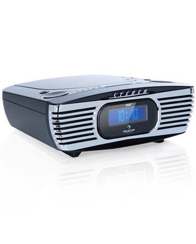 Auna Dreamee DAB+, rádiobudík, CD přehrávač, DAB+/FM, CD-R/RW/MP3, AUX, retro, černý