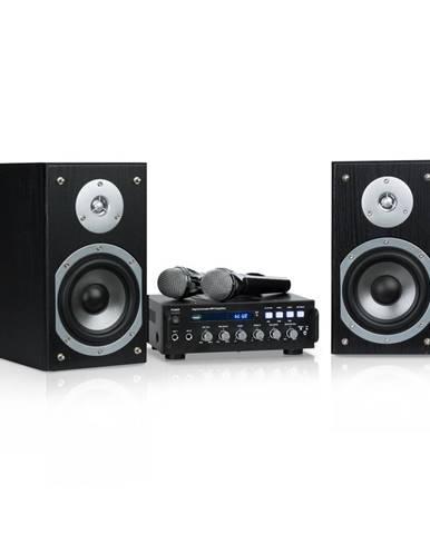 Auna Karaoke Star 3, karaoke sada, 2 x 75 W max., BT, USB port, Line-In, 2 x mikrofon