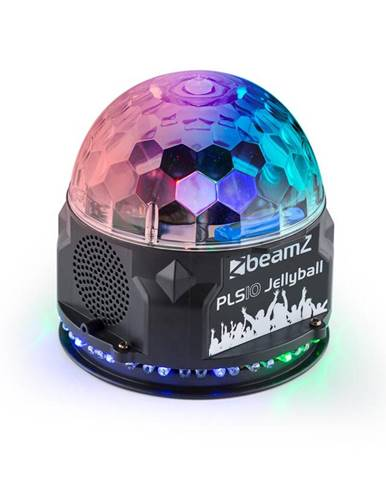 Beamz BeamZ PLS10 Jellyball, 3x 1W LED kruh se 48 RGB LED diodami, BT, MP3 přehrávač