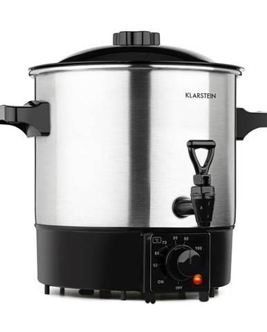 Klarstein Biggie Eco zavařovací hrnec a várnice na nápoje, 1000 W, 30-100 °C, výčepní kohoutek, 9l