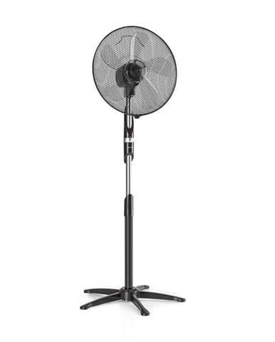 """Klarstein Summer Vibe, stojící ventilátor 16"""" 55 W 2040 m³/h, oscilace 65 °, černá barva"""