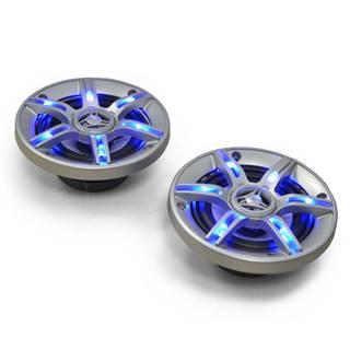 Pár repro do auta Auna CS-LED5, 600 W, 13 cm, LED