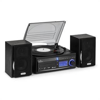 Stereo zařízení Auna DS-2, gramofon, MP3 záznam
