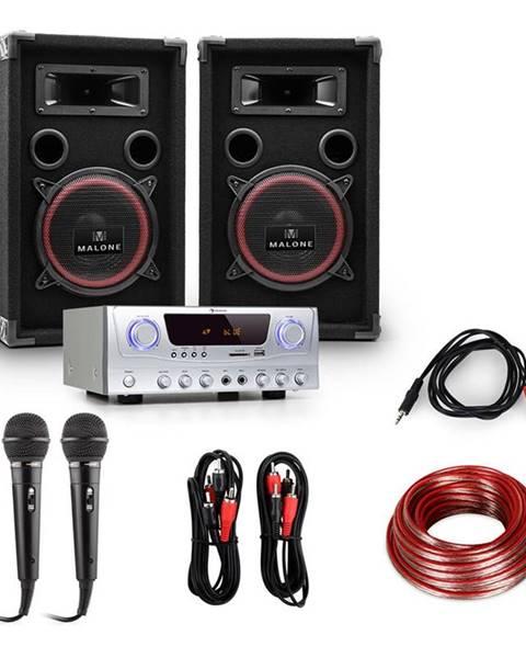 "Electronic-Star Electronic-Star DJ Set ""EASY"" zesilovač, repro, mikrofon, 1000W"