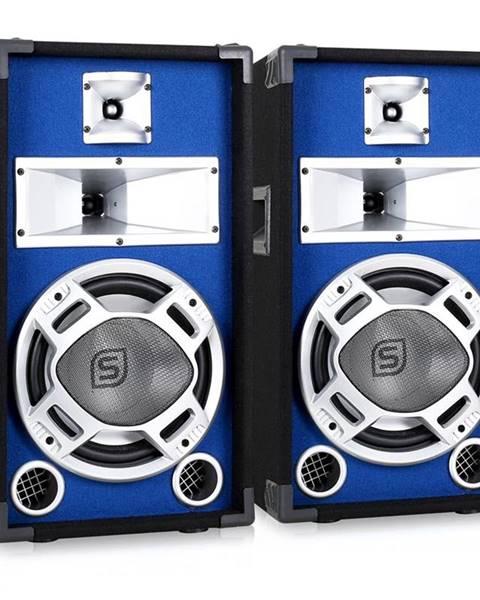 Skytec Skytec Pár pasivních reproduktorů 2x400W s modrým podsvícením 2x400W