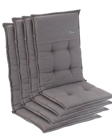 Blumfeldt Coburg, sedák na křeslo, vysoké opěradlo, zahradní stolička, polyester, 53x117x9cm
