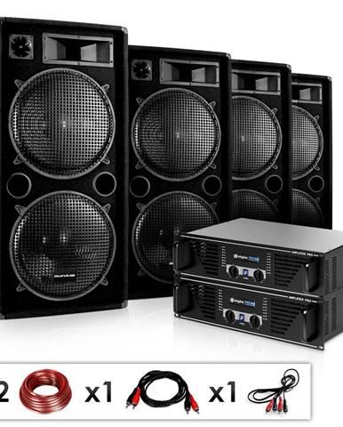 """Electronic-Star Kompletní DJ systém """"Phuket Pulsar Pro"""", 1000W, repro, zes."""