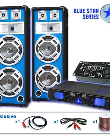"Electronic-Star Set ""Bassveteran USB"" z řady Blue Star, 1200W"