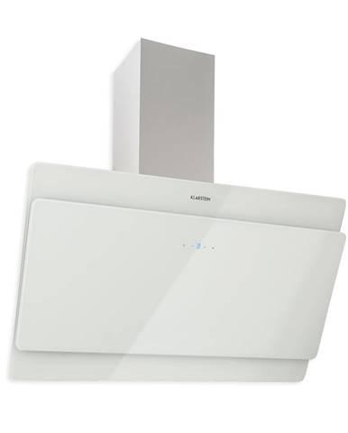 Klarstein Aurica 90, odsavač par, 90 cm, 610 m³/h, LED, dotykový, sklo, bílý
