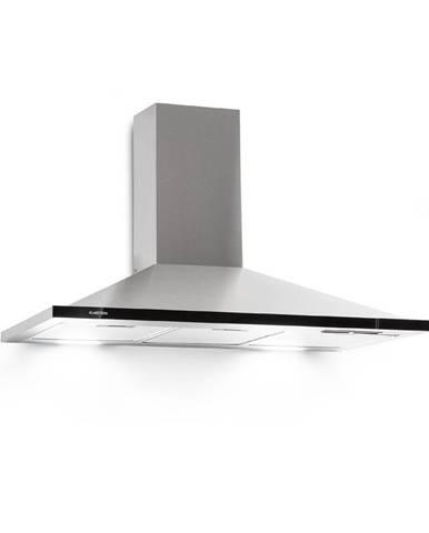 Klarstein Galina 90, odsavač par, 90 cm, 350 m³/h, LED, ušlechtilá ocel, akrylové sklo