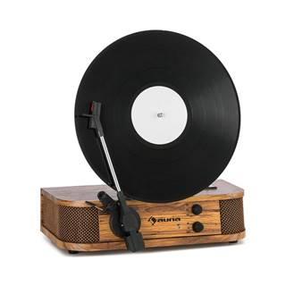Auna Verticalo, SE, retro gramofon, USB, BT, linkový vstup, dřevo