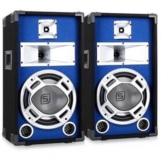 Skytec Pár pasivních reproduktorů 2x400W s modrým podsvícením 2x400W
