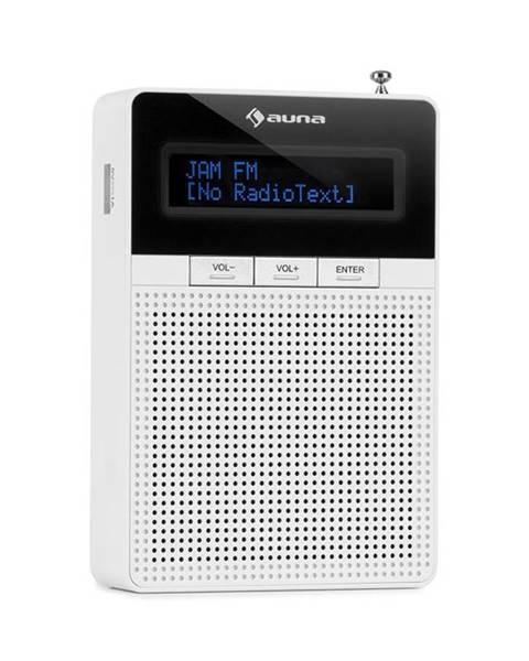 Auna Auna DigiPlug FM, rádio do zásuvky, FM, BT, LCD displej, bílé