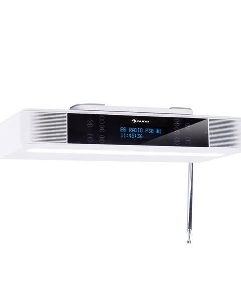 Auna Auna KR-140, kuchyňské rádio, bluetooth, handsfree, LED osvětlení, bílé