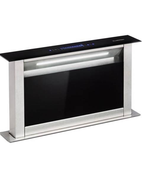 Klarstein Klarstein Royal Flush Eco, výsuvný odsavač par, 60 cm, 576 m³/h, A+, černý