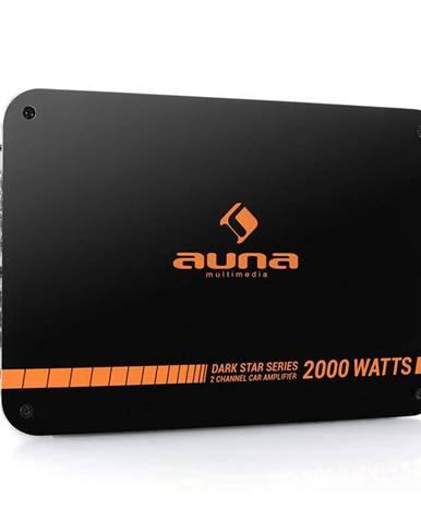Auna Dark Star 2000, 2000W, 2kanálový koncový zesilovač do a