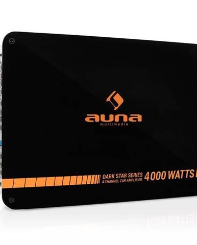 Auna Dark Star 4000, 4000 W, 4kanálový koncový zesilovač