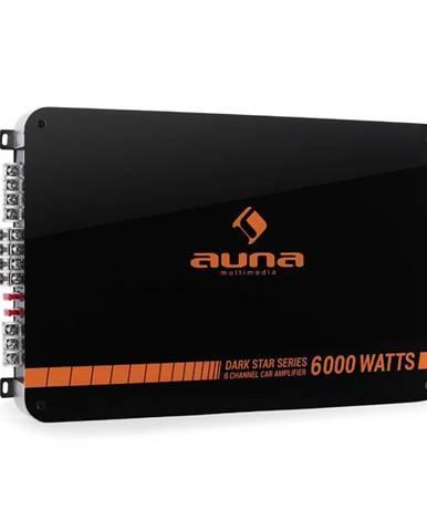 Auna Dark Star 6000, 600 W, 6kanálový koncový zesilovač