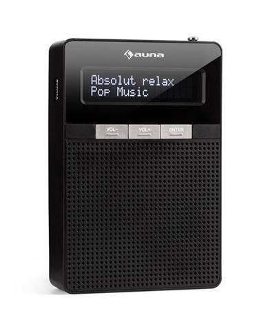 Auna DigiPlug DAB, rádio do zásuvky, DAB+, FM/PLL, BT, LCD displej, černé
