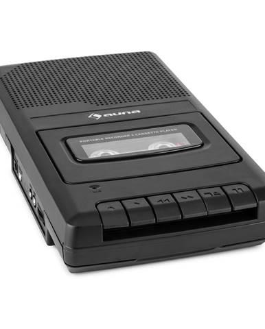 Auna RQ-132, kazetový magnetofon, diktafon, kazety, rekordér, mikrofon