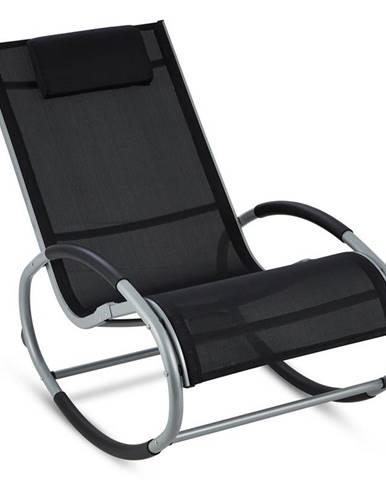 Blumfeldt Retiro, houpací křeslo, hliník, polyester, černé