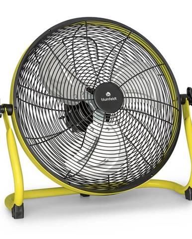 "Blumfeldt Wintergarden, podlahový ventilátor, 16"", akumulátor, 43 W, USB, 45 dB, žlutý"