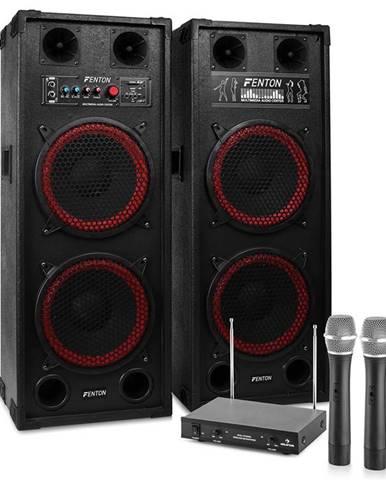 """Electronic-Star Karaoke zařízení """"STAR-Schöneberg"""" reproboxy rádio mikrofon"""