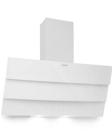 Klarstein Antonia, odsavač par, 90 cm, 350m³/h, dotykový ovládací panel, energetická třída B, bílý