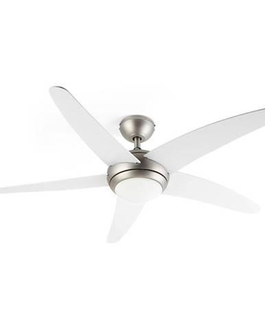 Klarstein Bolero, 2 v 1 stropní ventilátor, 134 cm, světlo, 55W, dálkový ovladač, bílý