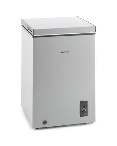 Klarstein Iceblokk, 100 l, šedý, mrazák, 75W A +