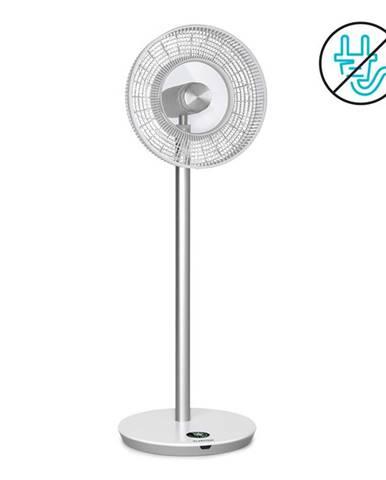 """Klarstein Whisperwind, stojanový ventilátor, 12"""" (30,5 cm), 9 lopatek, akumulátor, 30 W max., bílý"""
