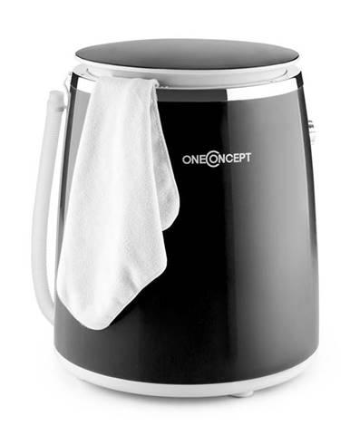 OneConcept Ecowash-Pico, černá, mini pračka, funkce ždímání, 3,5 kg, 380 W