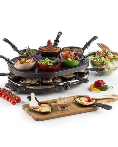 OneConcept Woklette, stolní gril, rakletovací gril, wok, 1200 W, 6 osob, nepřilnavý