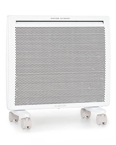 Klarstein Klarstein Hot Spot Slimcurve Double Wave, 2 v 1 ohřívač, 1000 W, týdenní časovač, bílý