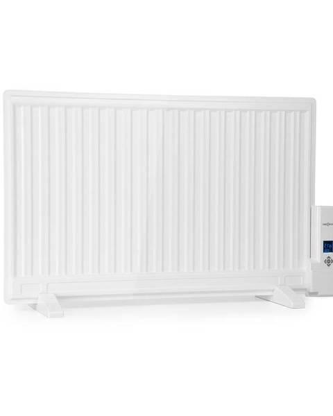 OneConcept OneConcept Wallander, olejový radiátor, 800 W, termostat, olejové vyhřívání, plochý design, bílý