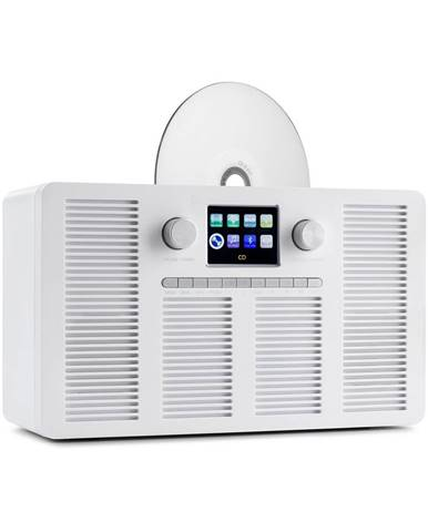 Auna Vertico, internetové rádio s CD přehrávačem, IR / DAB + / FM, BT, 2,4'', HCC, displej