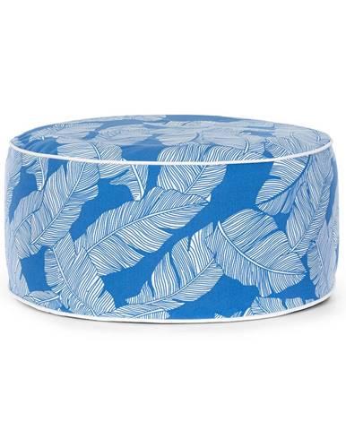 Blumfeldt Cloudio, sedačka, nafukovací, 55 x 28 cm (Ø x V), PVC/polyester, modrá