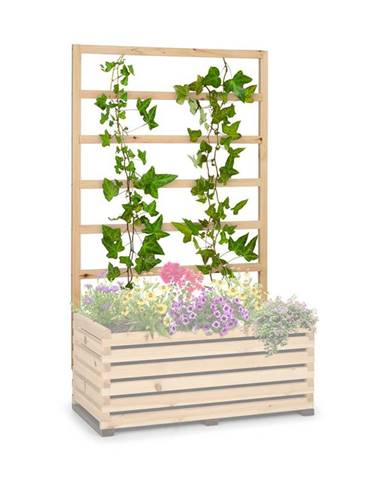 Blumfeldt Modu Grow 100 UP, mřížka na rostliny, 151 x 100 x 3 cm, borovice