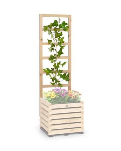 Blumfeldt Modu Grow 50 UP, mřížka na rostliny, 151 x 50 x 3 cm, borovice