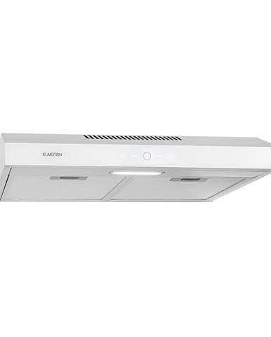 Klarstein Contempo Neo, digestoř na zabudování pod skříňky, 60 cm, 175 m³/h, LED, ušlechtilá ocel, bílá