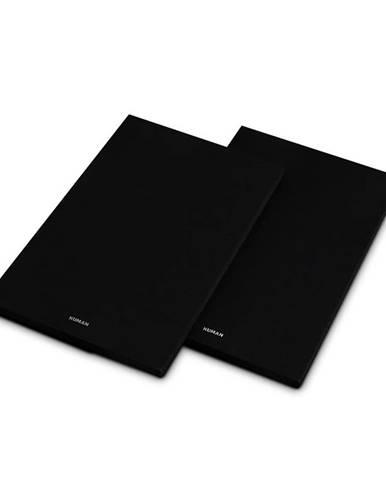 Numan Reference 802 Cover, černý, kryt na regálové reproduktory, pár