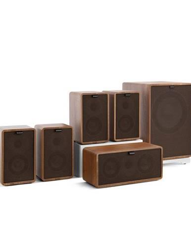 Numan Retrospective 1979-S 5.1 Soundsystem ořech včetně černo-hnědého krytu